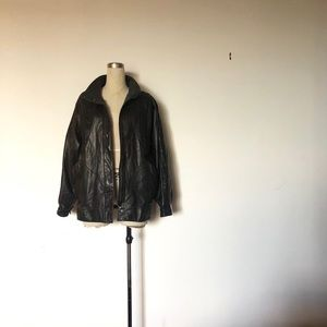 Boutique of Leathers - Vintage 80s Leather Jacket